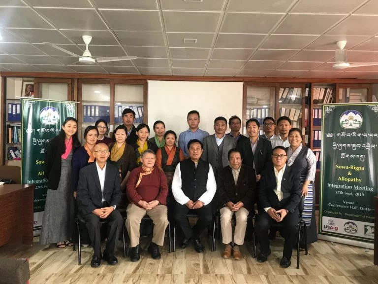 Department of Health organises Sowa-Rigpa and Allopathy Integration meeting