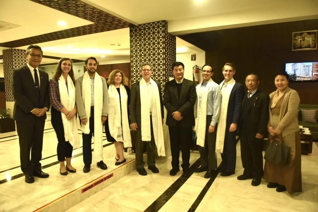 US Ambassador for Religious Freedom arrives in Dharamshala