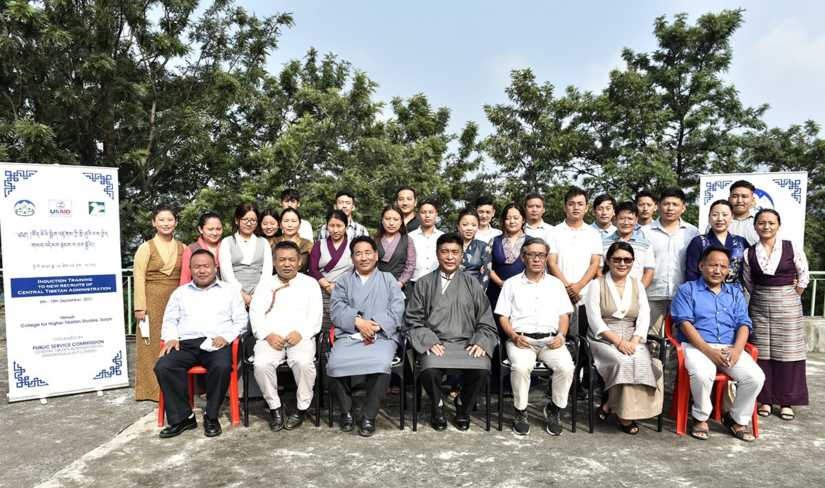 Induction training for 21 newly recruited CTA staff begins at Sarah College for Higher Tibetan Studies